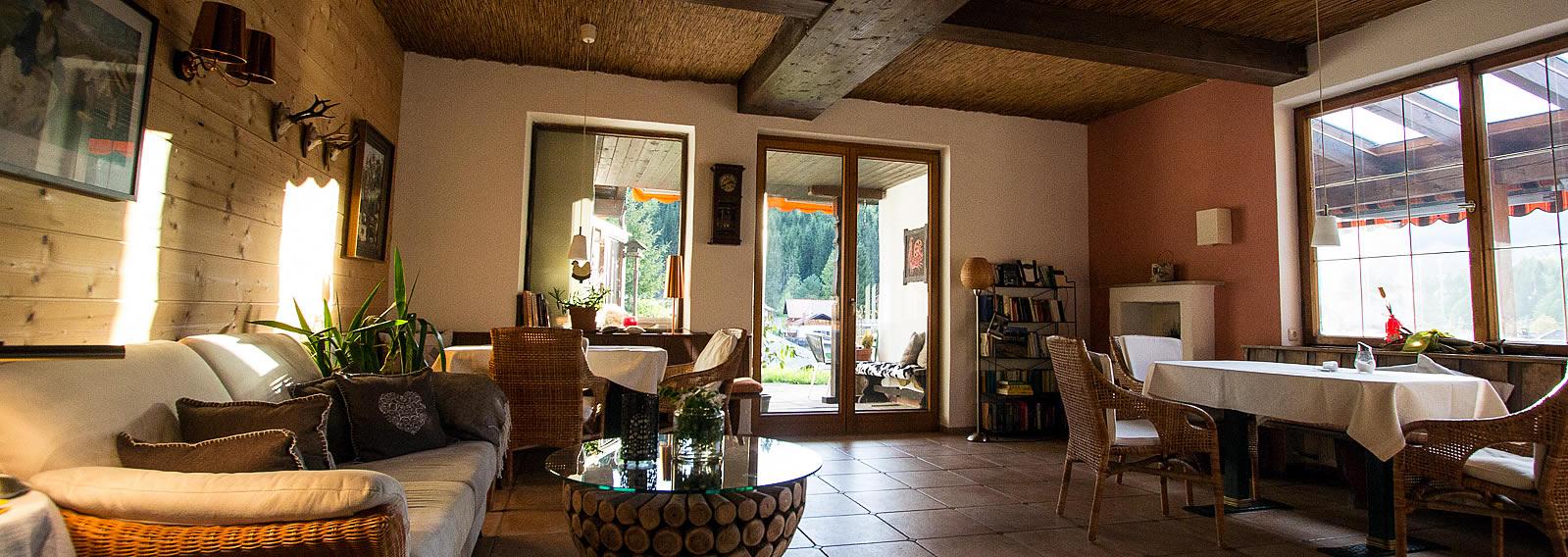 Rusticana Kamin Zimmer